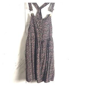 Overall dress | tiny floral print | Size Small P |